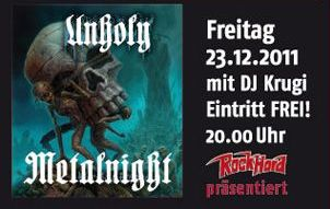 BURG metalnight NEWS 2011