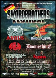 GERMAN SWORDBROTHERS FESTIVAL flyer NEWS 2012
