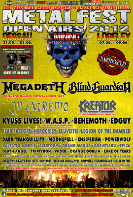 METALFEST flyer SPECIALS 2012