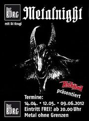 METALNIGHT flyer 2012-04 NEWS 2012