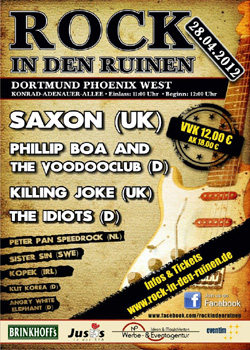 ROCK IN DEN RUINEN flyer ready NEWS 2012