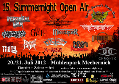 SUMMERNIGHT flyer NEWS 2012