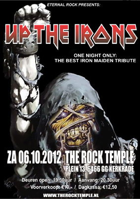 UP THE IRONS flyer NEWS 2012