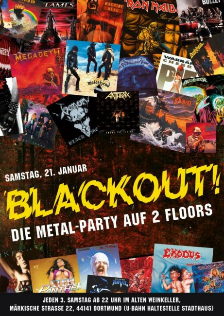 BLACKOUT weinkeller NEWS 2011